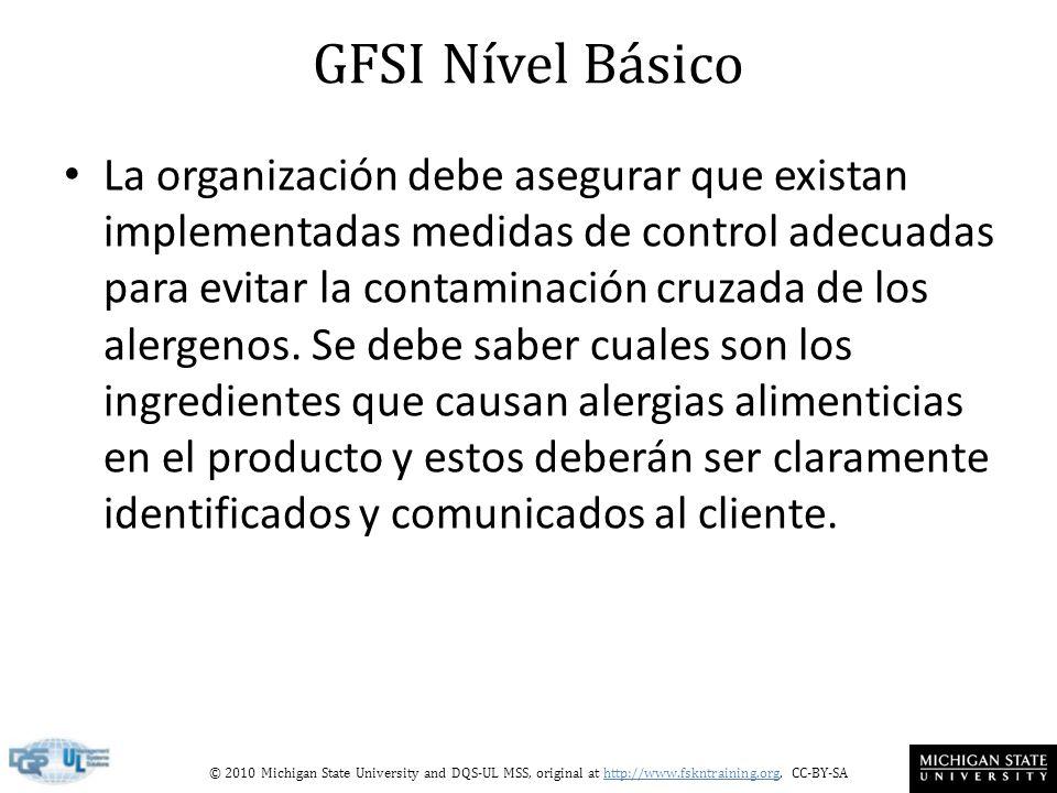 GFSI Nível Básico