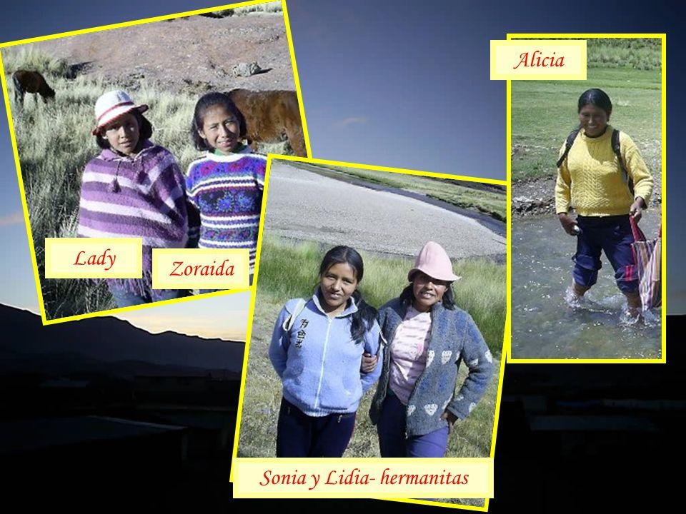 Sonia y Lidia- hermanitas