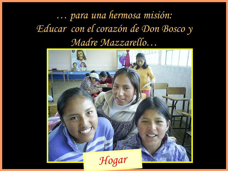 Hogar … para una hermosa misión: Educar con el corazón de Don Bosco y