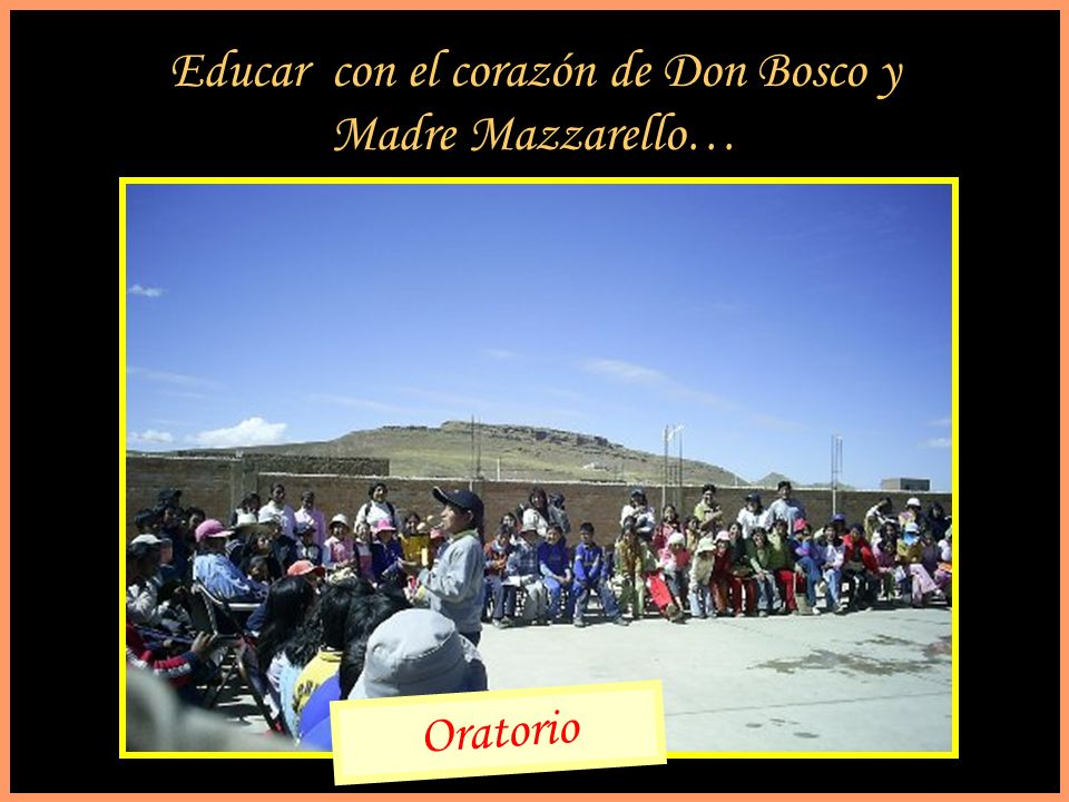 Educar con el corazón de Don Bosco y