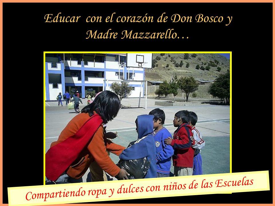 Educar con el corazón de Don Bosco y Madre Mazzarello…