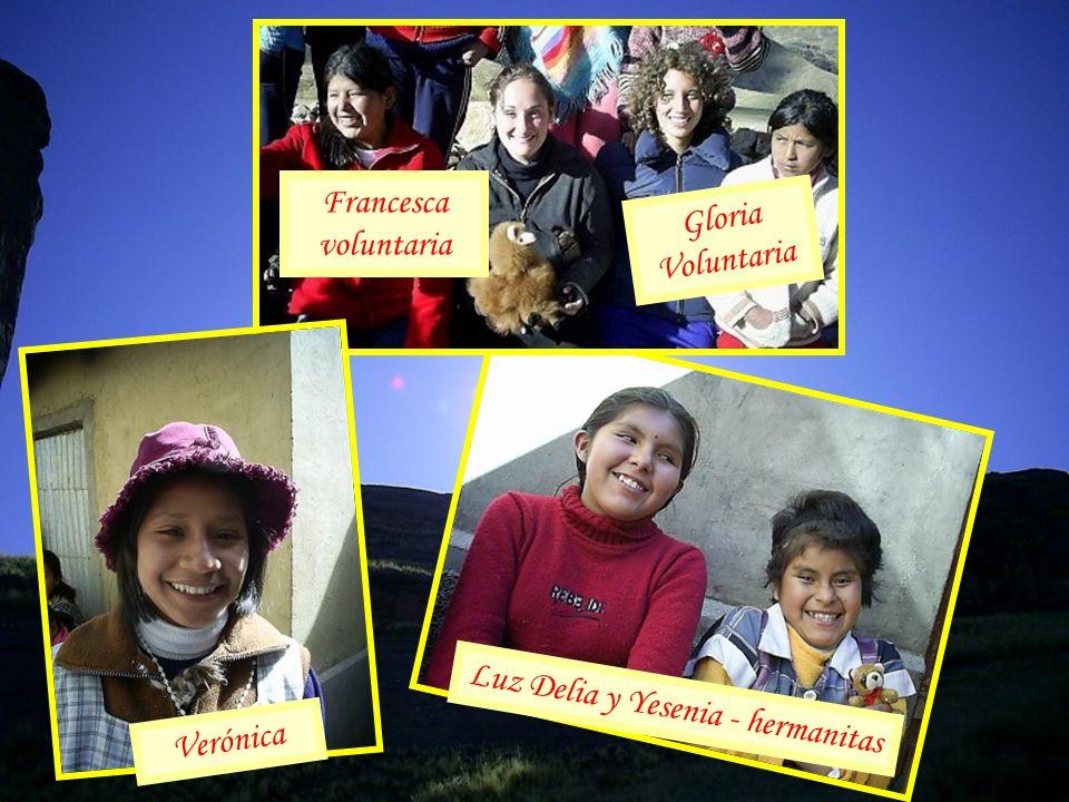 Luz Delia y Yesenia - hermanitas