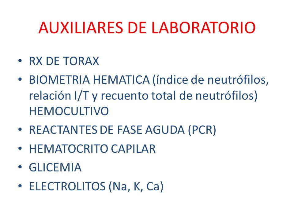 AUXILIARES DE LABORATORIO
