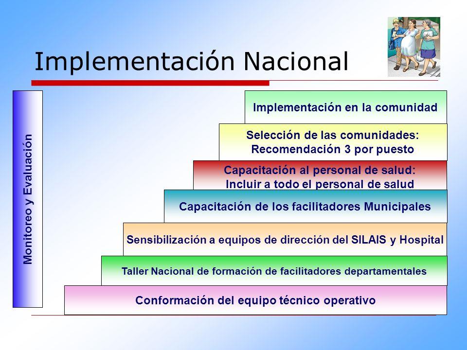 Implementación Nacional