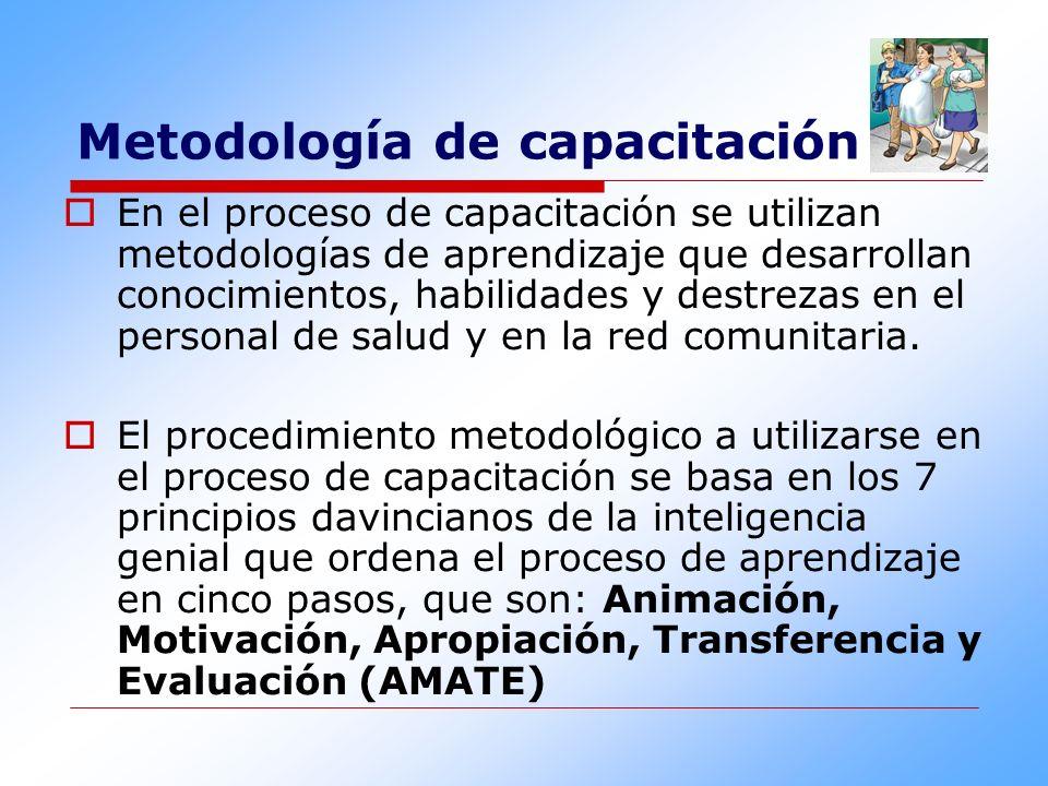 Metodología de capacitación