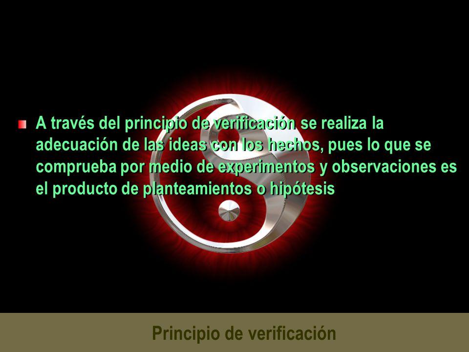 Principio de verificación