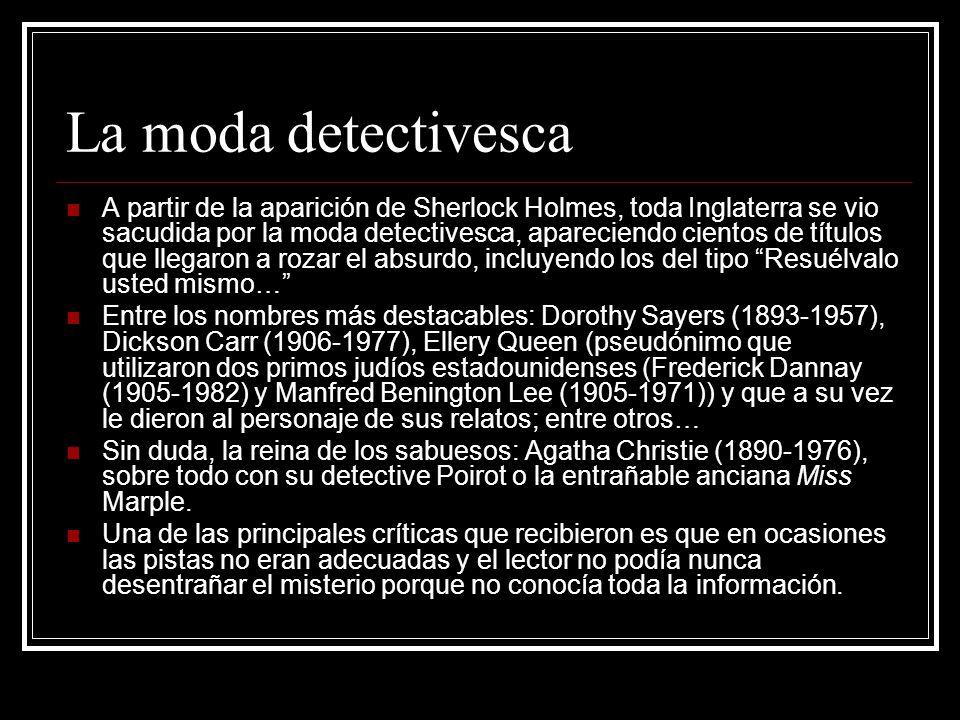 La moda detectivesca