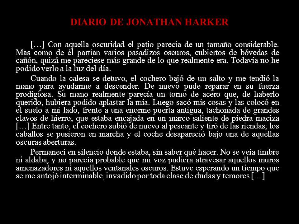 DIARIO DE JONATHAN HARKER