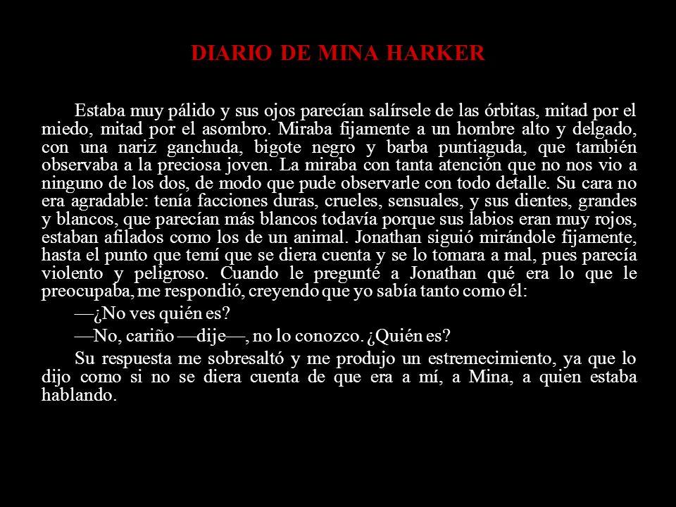 DIARIO DE MINA HARKER