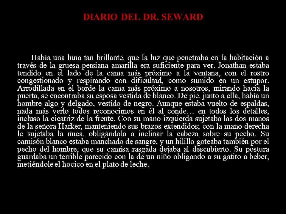 DIARIO DEL DR. SEWARD