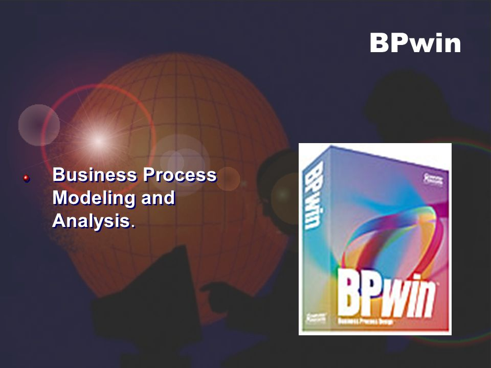 BPwin Business Process Modeling and Analysis.