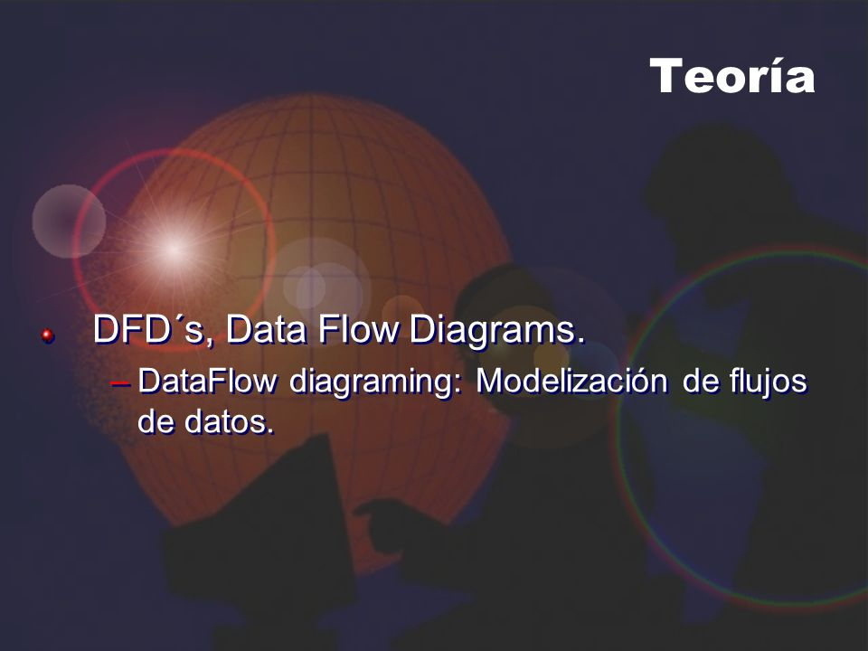 Teoría DFD´s, Data Flow Diagrams.