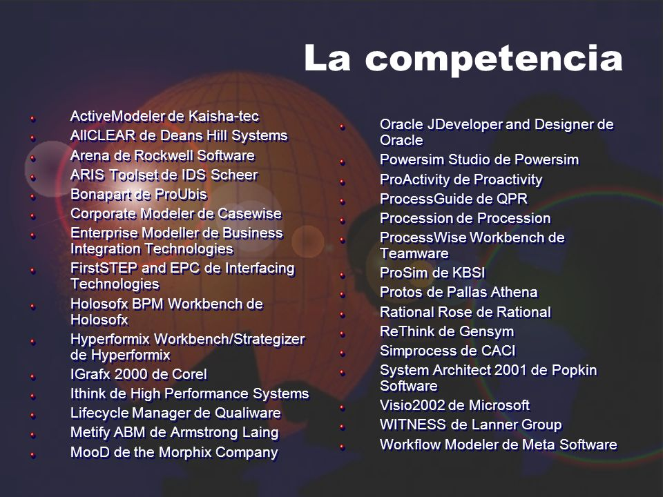 La competencia ActiveModeler de Kaisha-tec
