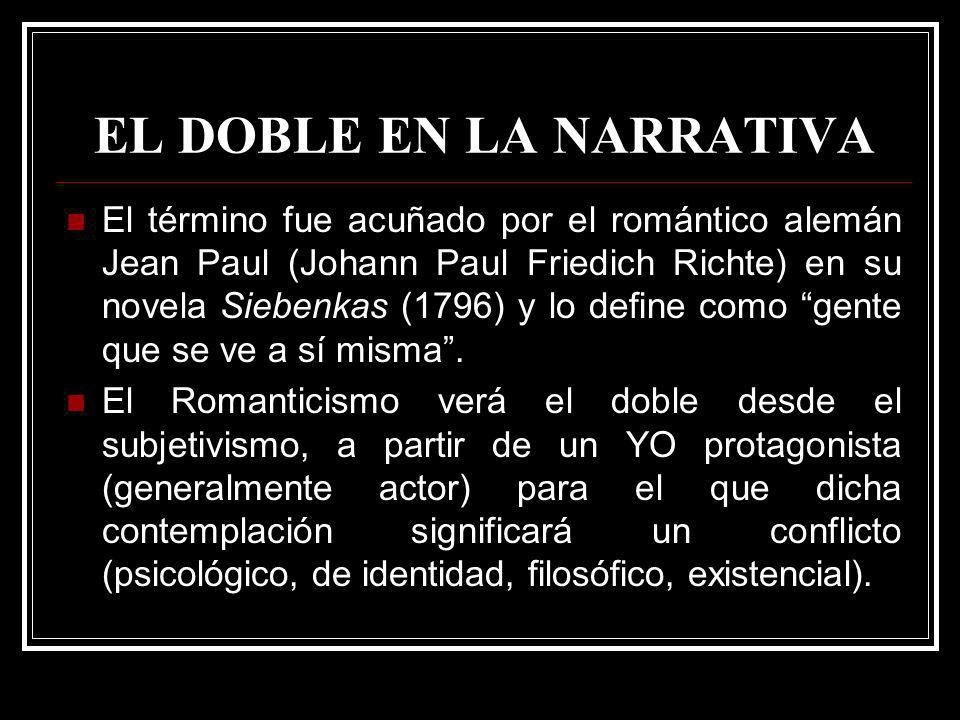 EL DOBLE EN LA NARRATIVA