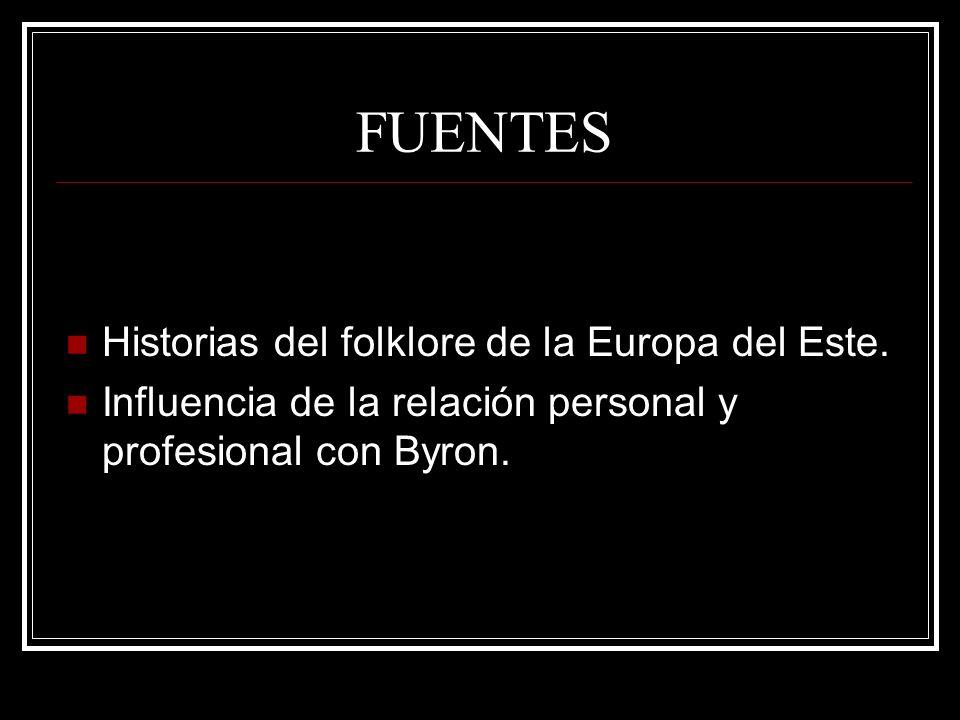 FUENTES Historias del folklore de la Europa del Este.