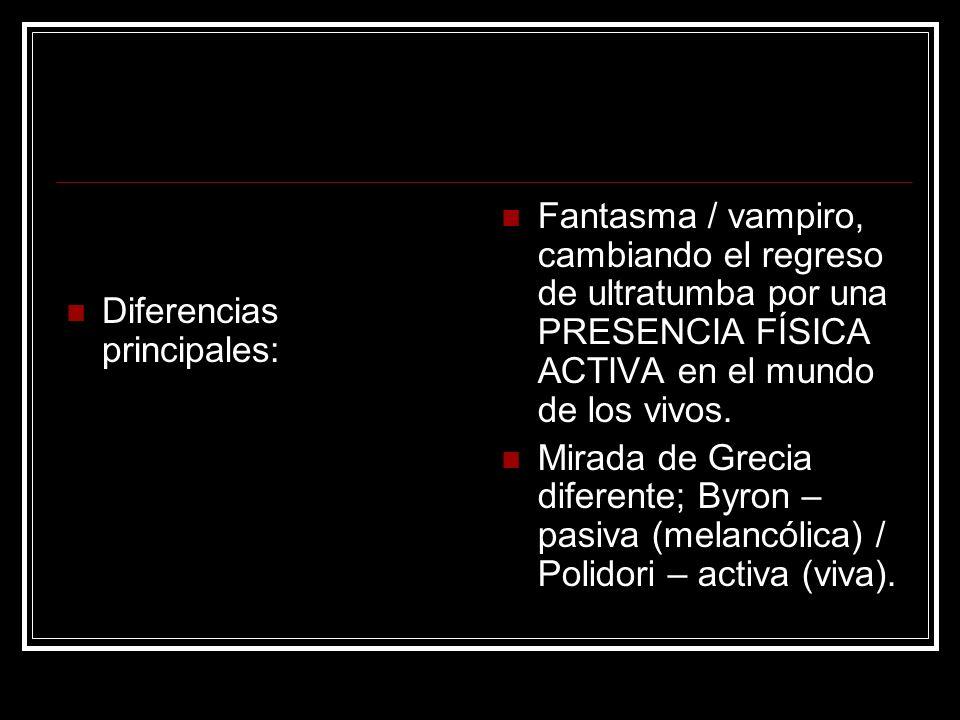 Diferencias principales: