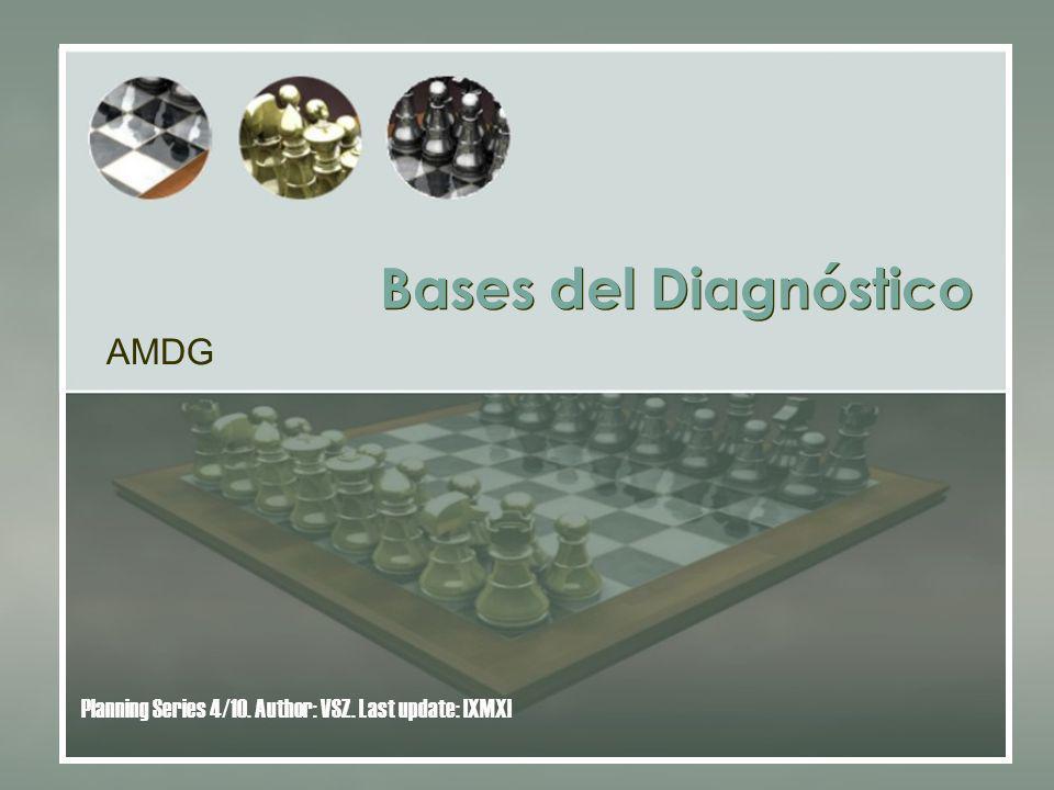 Bases del Diagnóstico AMDG