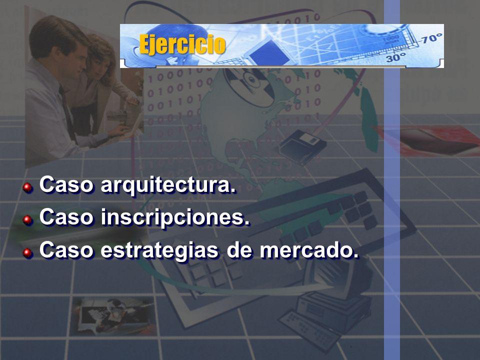 Ejercicio Caso arquitectura. Caso inscripciones.