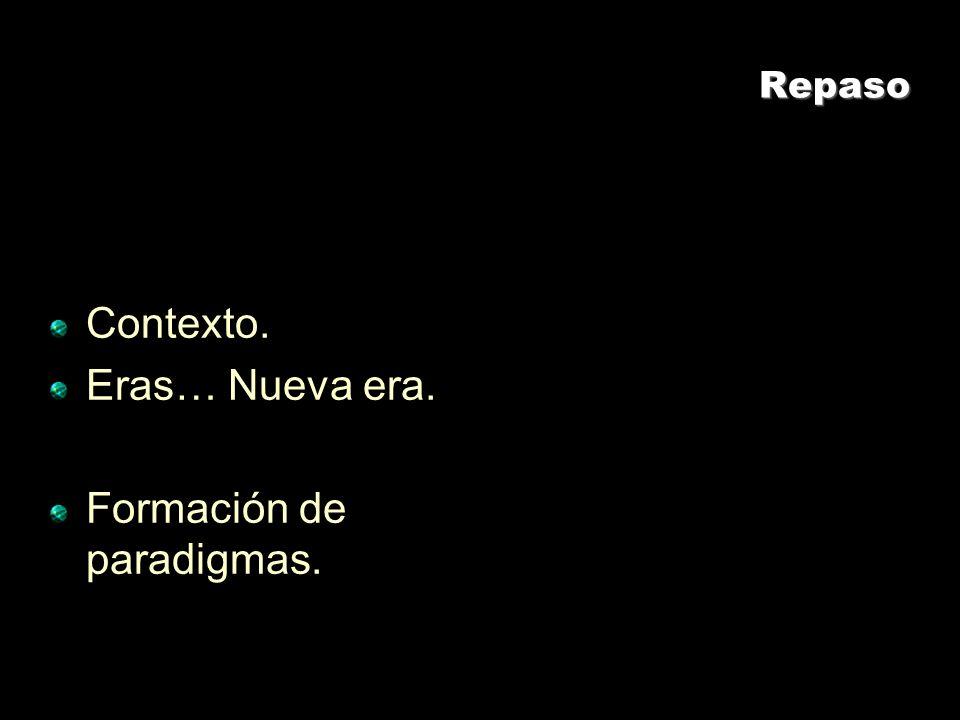Formación de paradigmas.