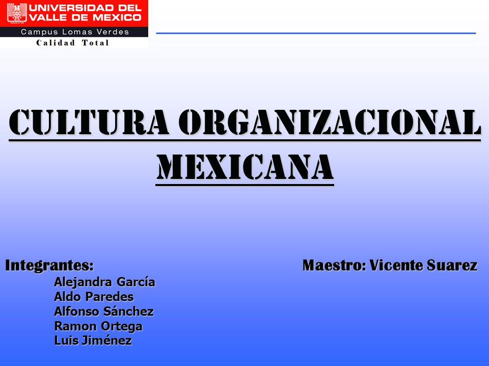 Cultura organizacional mexicana