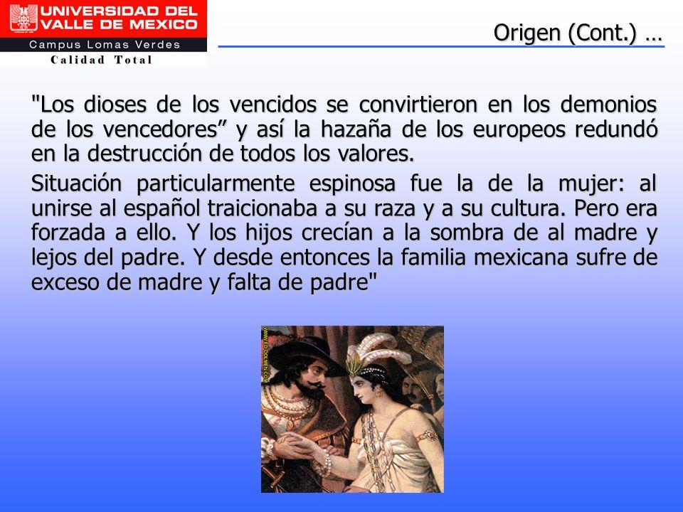 Origen (Cont.) …