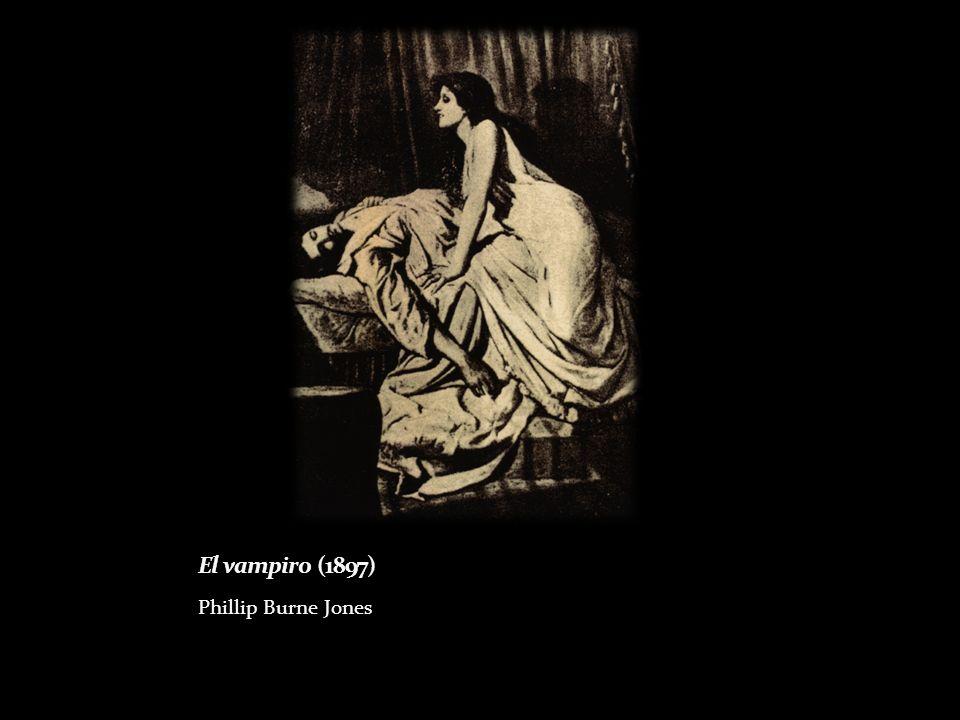 El vampiro (1897) Phillip Burne Jones