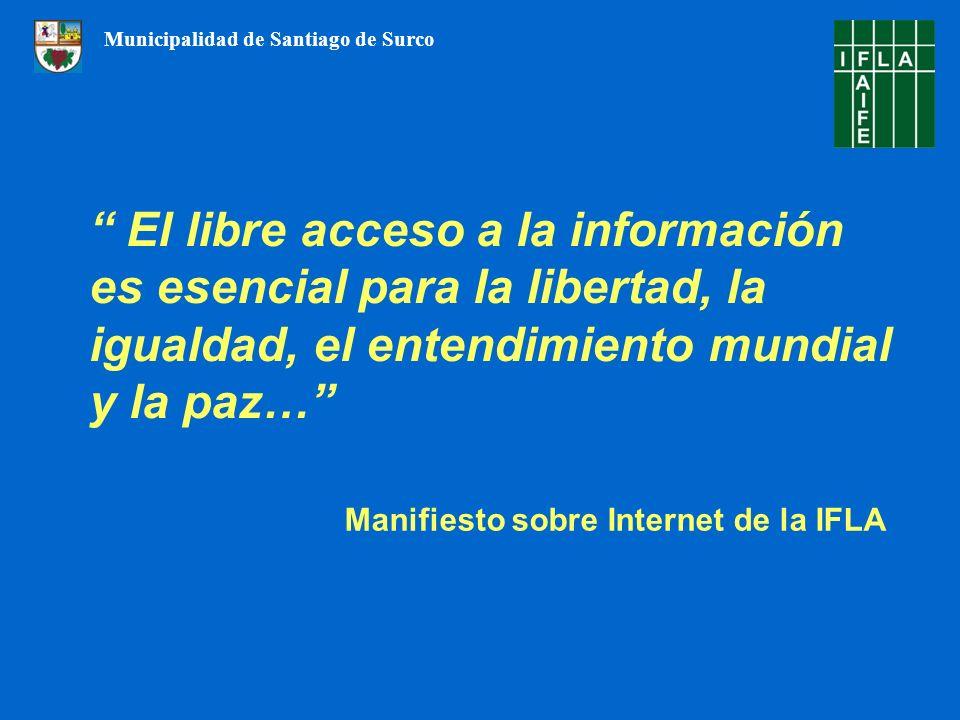 Manifiesto sobre Internet de la IFLA