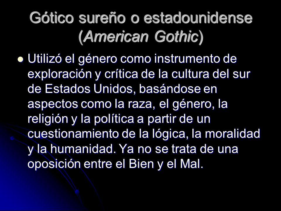 Gótico sureño o estadounidense (American Gothic)
