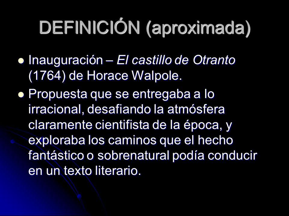 DEFINICIÓN (aproximada)