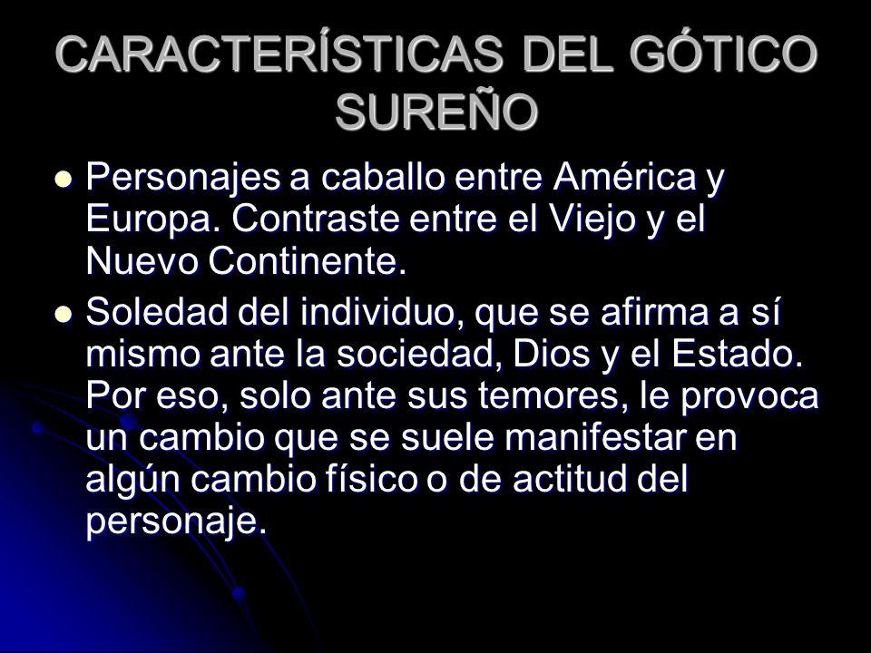CARACTERÍSTICAS DEL GÓTICO SUREÑO