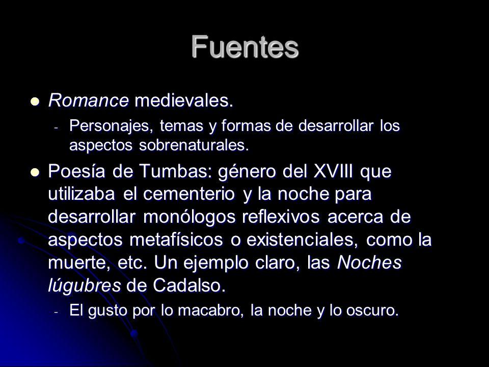 Fuentes Romance medievales.