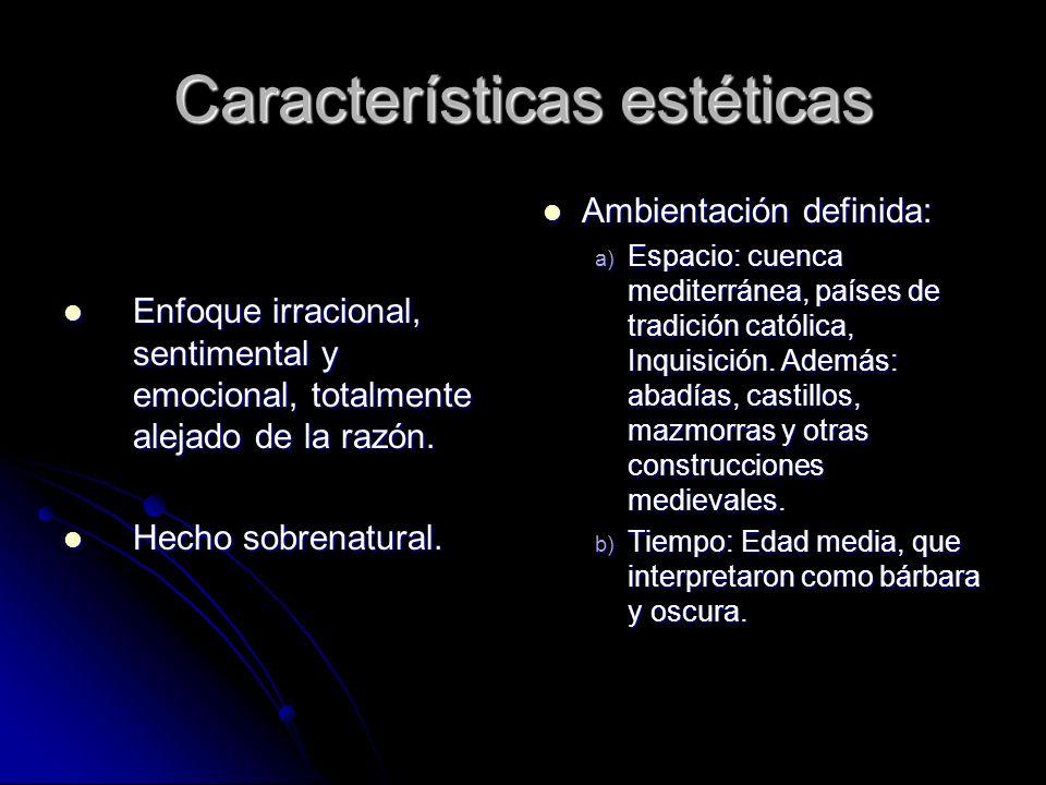 Características estéticas