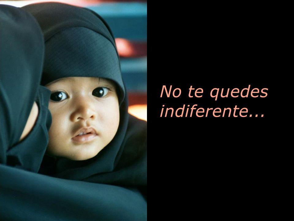 No te quedes indiferente...