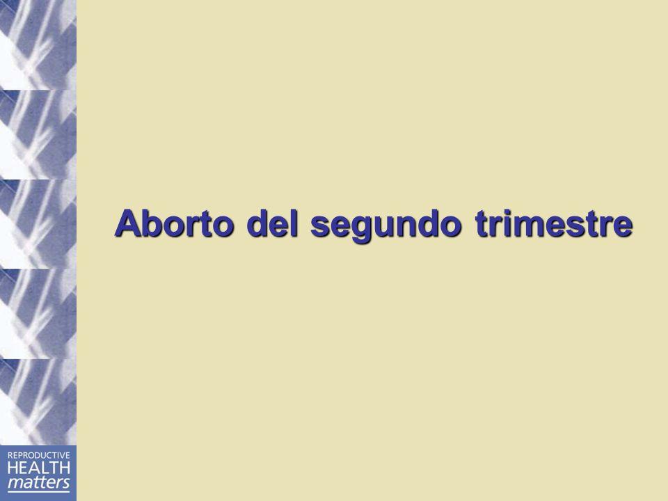 Aborto del segundo trimestre