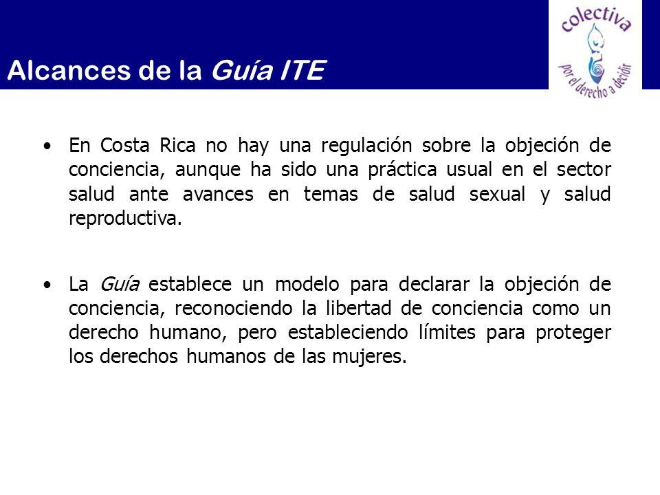 Alcances de la Guía ITE