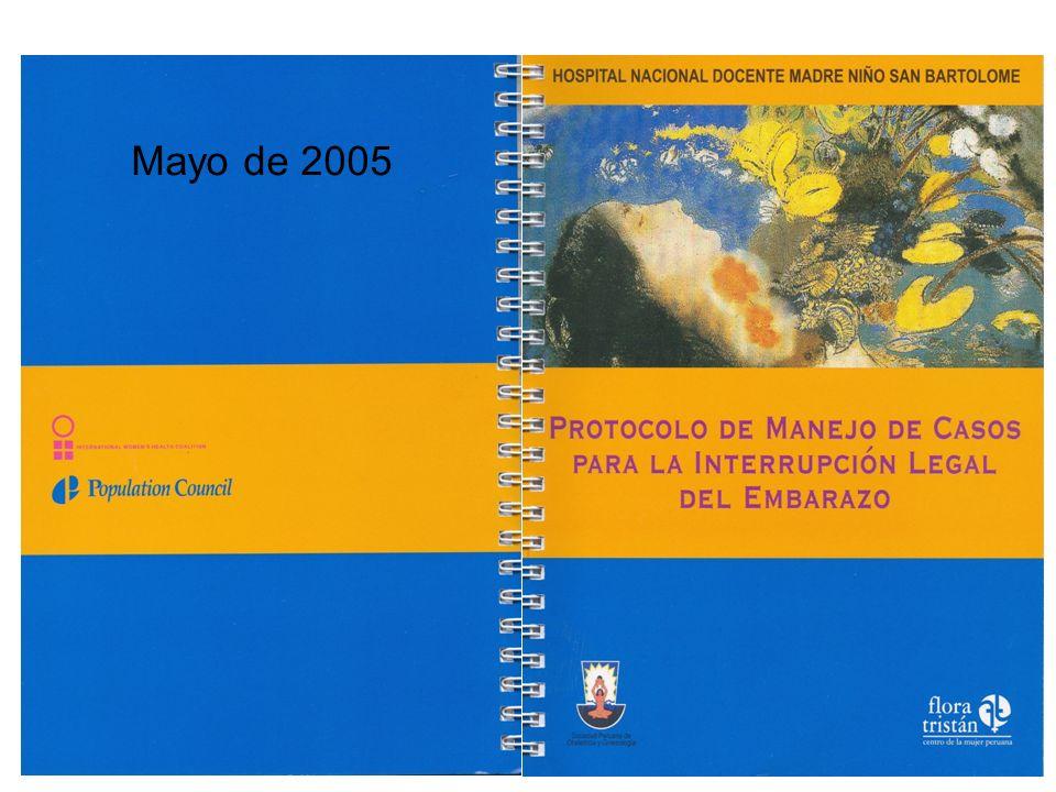 Mayo de 2005