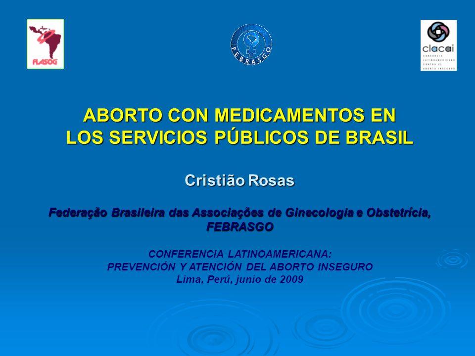 ABORTO CON MEDICAMENTOS EN