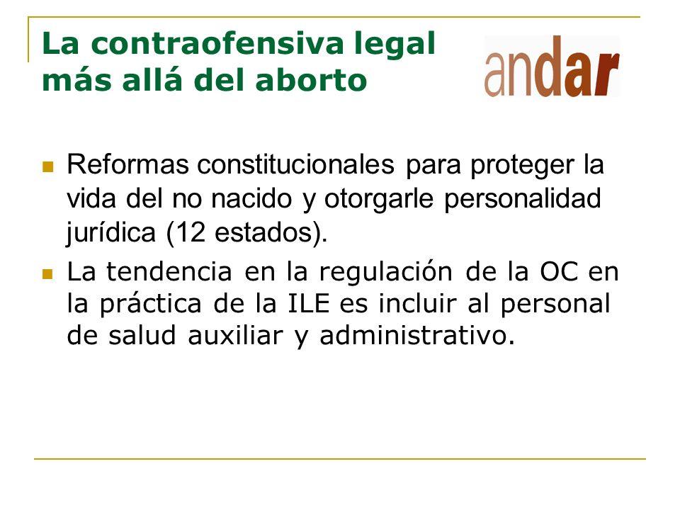 La contraofensiva legal más allá del aborto
