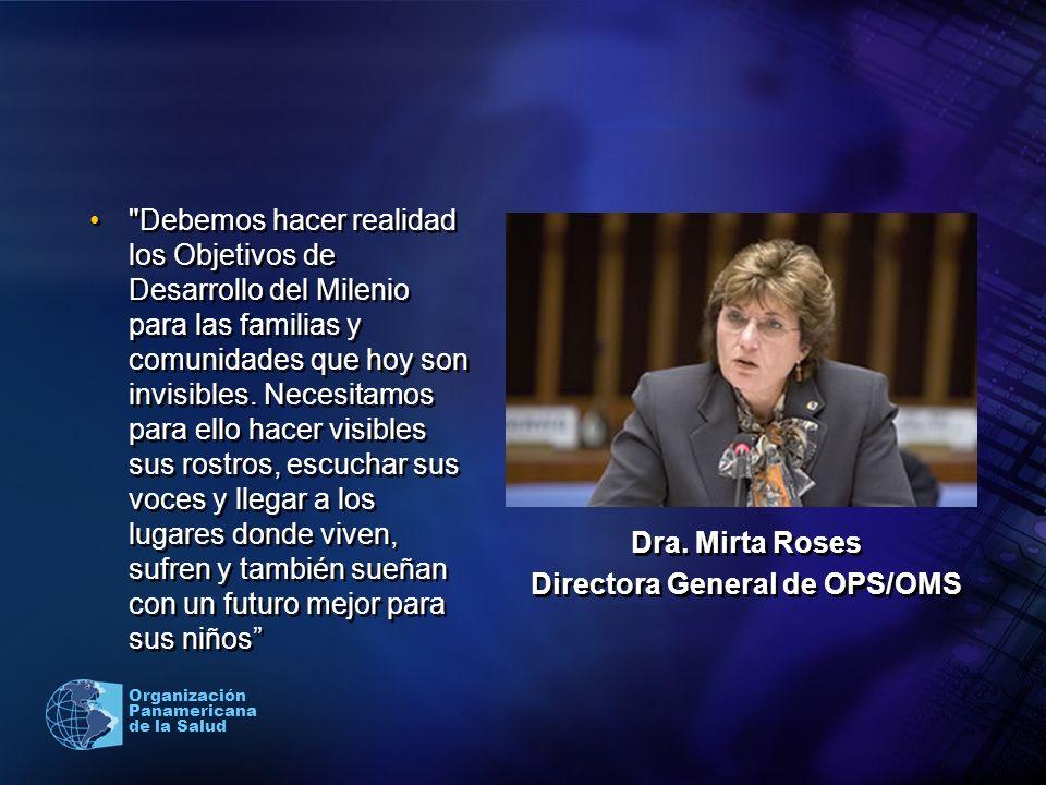 Directora General de OPS/OMS