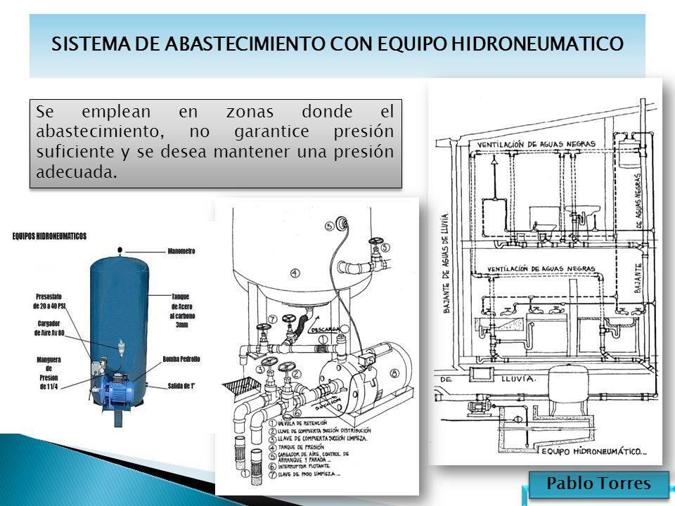 Sistemas de alimentaci n ppt video online descargar for Equipo hidroneumatico