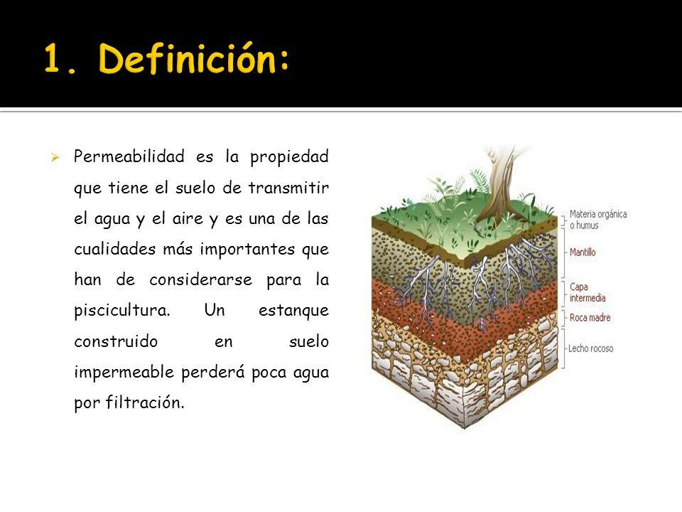 Permeabilidad del suelo ppt video online descargar for Significado de suelo