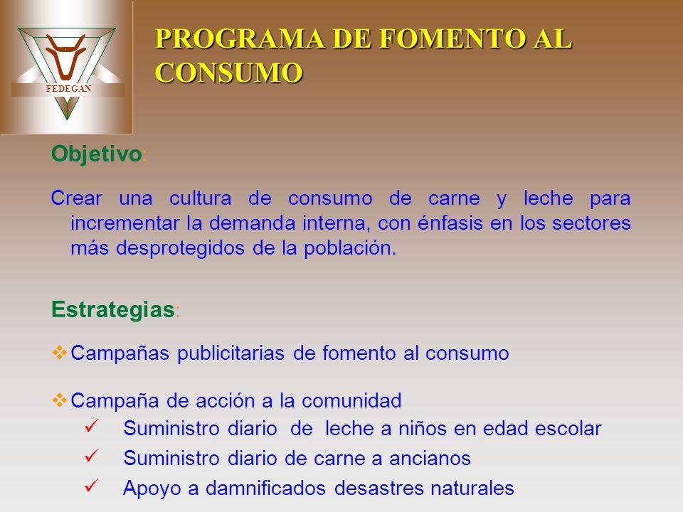 PROGRAMA DE FOMENTO AL CONSUMO