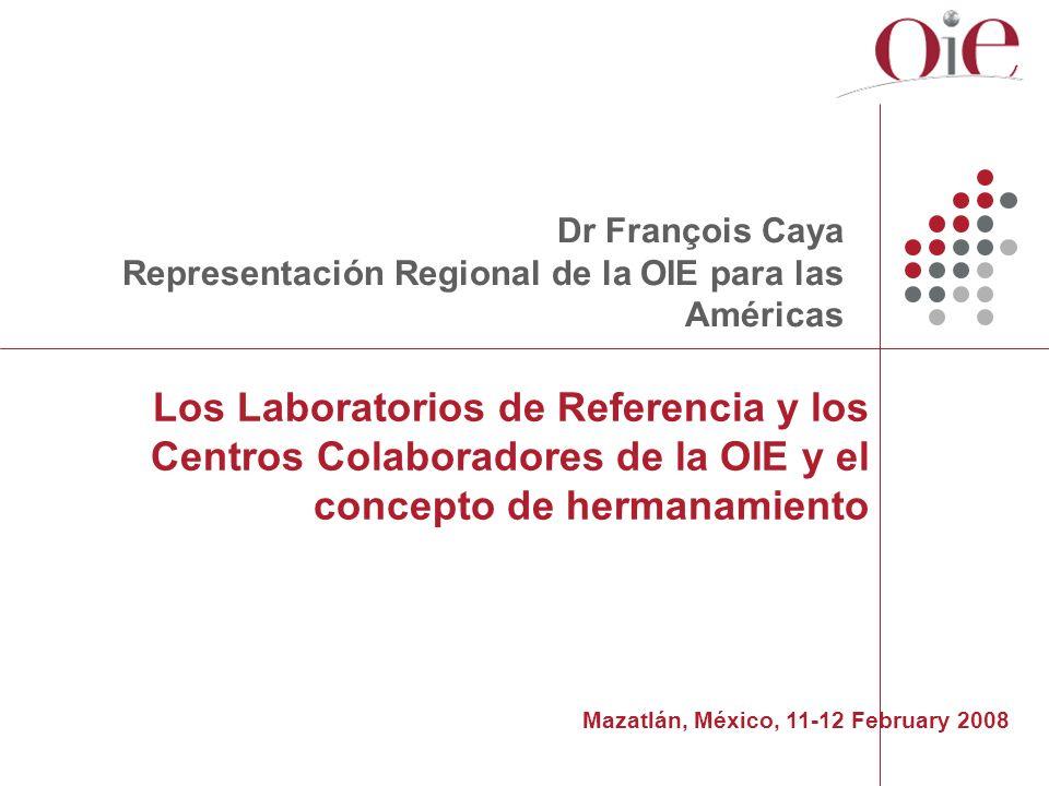 Dr François CayaRepresentación Regional de la OIE para las Américas.