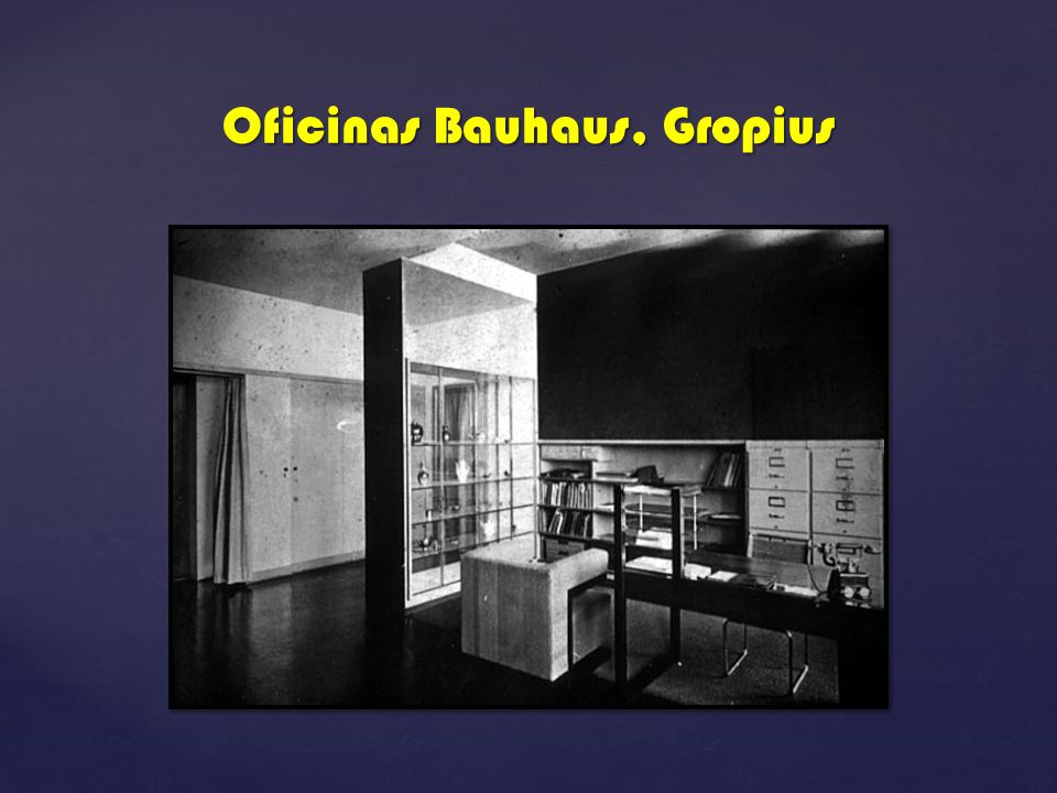 Bauhaus ppt descargar for Bauhaus oficinas centrales