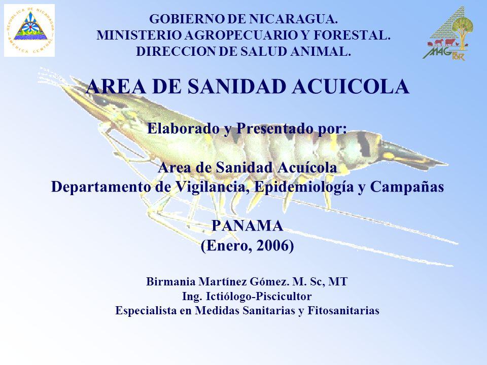 AREA DE SANIDAD ACUICOLA