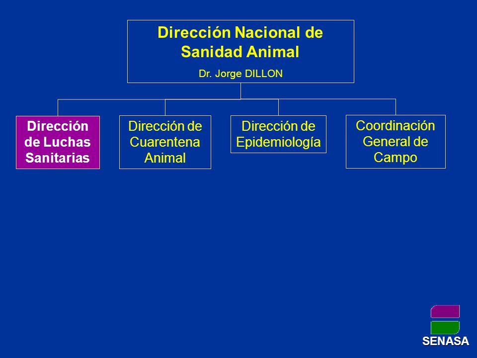 Dirección Nacional de Sanidad Animal Dirección de Luchas Sanitarias