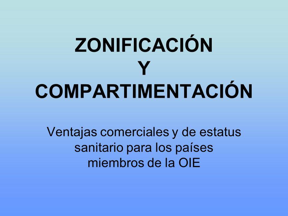 ZONIFICACIÓN Y COMPARTIMENTACIÓN