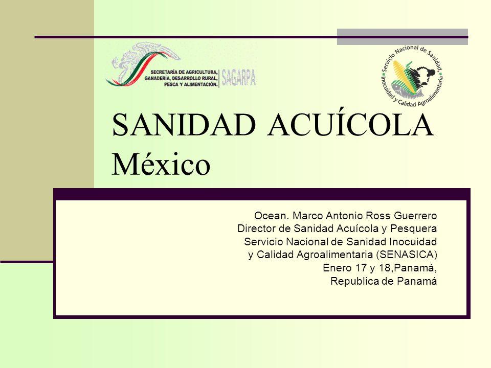 SANIDAD ACUÍCOLA México