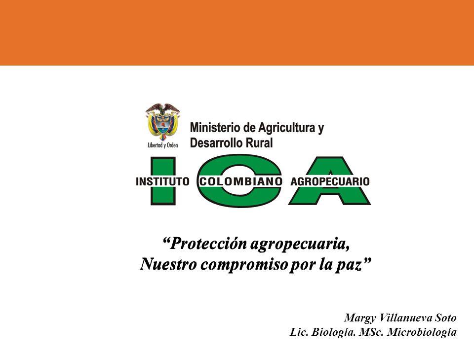 Protección agropecuaria, Nuestro compromiso por la paz
