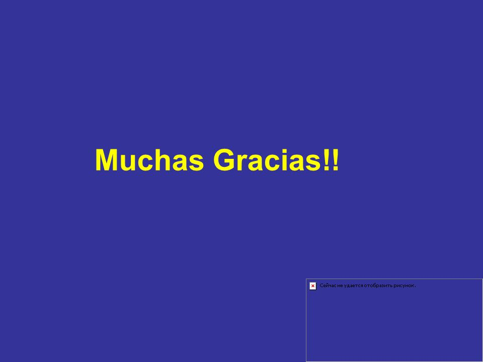 Muchas Gracias!!
